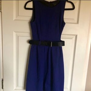 Belted theory dress